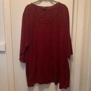 3/4 sleeve swing sweater,